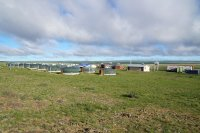 Camp Erdene-Ukhaa in the morning