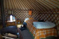 Yurt in the Khorgo Travel Camp