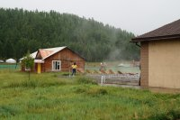 Camp Tsenkher Hot Springs