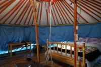 Yurt in the Talbiun Ger Camp